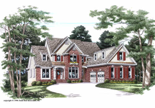 Kenton House Plan Elevation