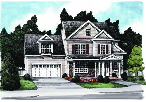 Magnolia Lane House Plan