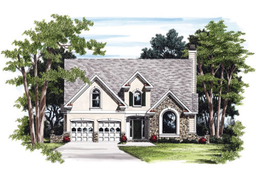 Maxwell House Plan Elevation