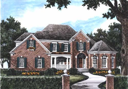 Morningside House Plan Elevation