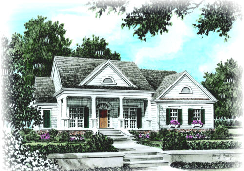 New Albany House Plan Elevation