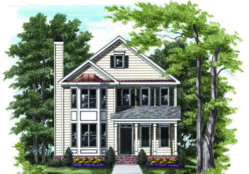 Pinckney House Plan