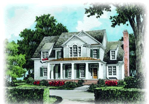Randolph Place House Plan Elevation