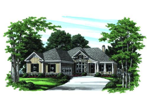 Raymond House Plan Elevation