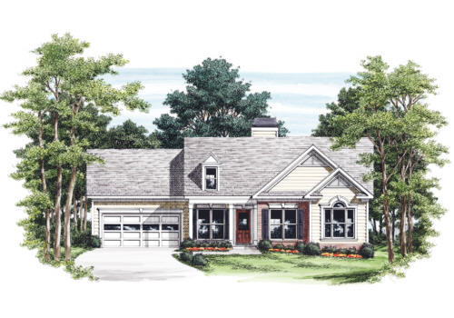 Rothbury House Plan Elevation