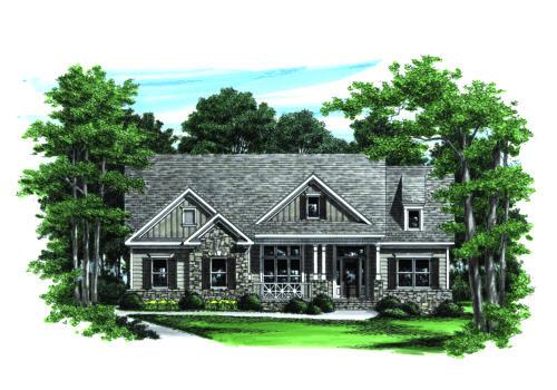Schaeffer House Plan Elevation