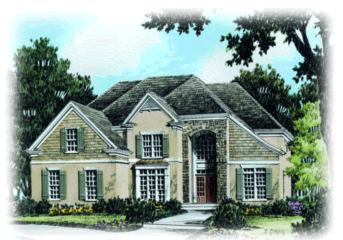 Sheridan Springs House Plan Elevation
