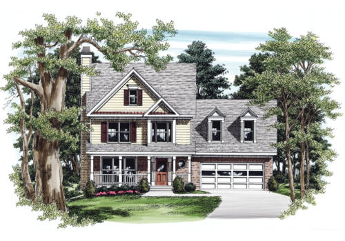 Spivey House Plan