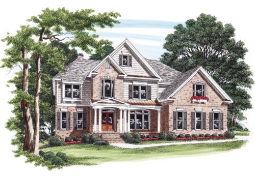 Surrey House Plan