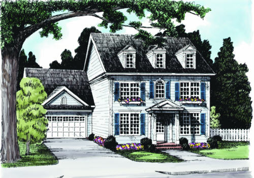 Sycamore Square House Plan