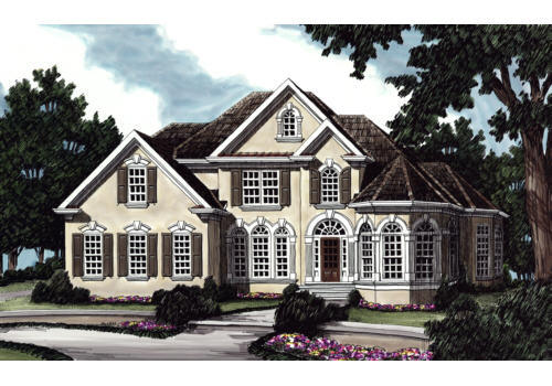 Syracuse House Plan Elevation