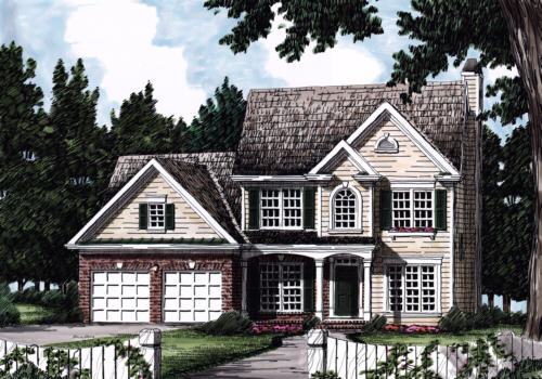 Westfield House Plan Elevation