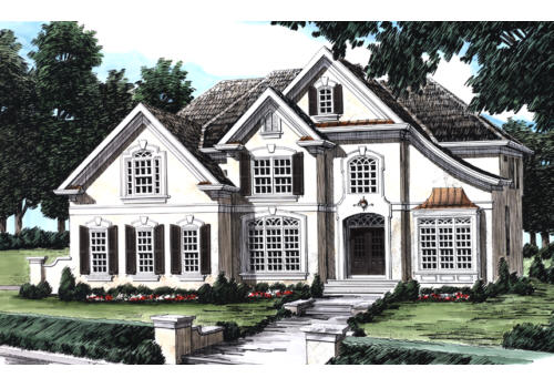Wilshire House Plan Elevation